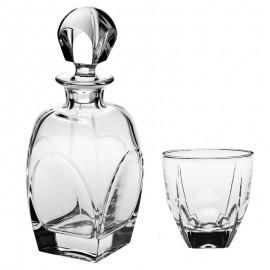 """Набор для виски """"FJORD"""", 1 штоф 850 мл + 6 стаканов (270 мл)"""