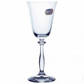 Бокалы для вина Анжела 40600 185 мл. 6 шт. Crystalex Bohemia