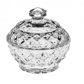 Доза для сахара Diamond 9,6 см. из хрусталя Crystal Bohemia