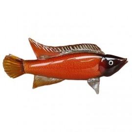 Фигурка Рыба янтарная ZB2171-TA