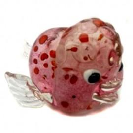 Фигурка Розовая рыбка ZB2187-TA