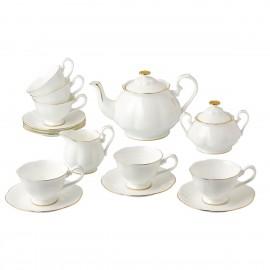Блан-де-Неж чайный сервиз 15 пр CH2086-TA