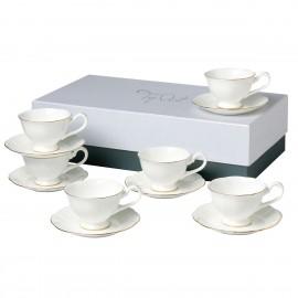 Блан-де-Неж чайный набор 12 пр CH2087-TA