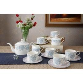 Жардан Блю чайный сервиз 15 пр YF2079-TA