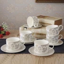 Жардан Беж чайный набор 12 пр YF2075-TA