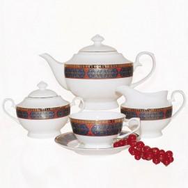 Астерия Голд чайный сервиз 15 пр YF1207-TA