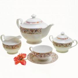 Роял Айвори чайный сервиз 15 пр YF1215-TA