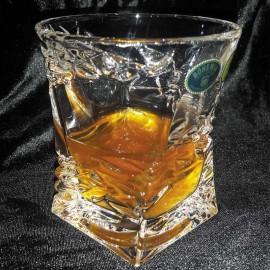 "Стакан ""Samurai"" для виски 240 мл (набор 6 шт.) из хрусталя Crystal Bohemia"