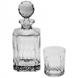 Набор для виски 01165 1 штоф 800 мл + 6 стаканов 320 мл из хрусталя Crystal Bohemia