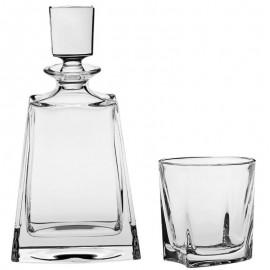 Набор для виски KATHRENE штоф 700 мл и 6 стаканов Bohemia
