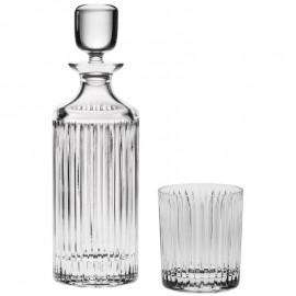 Набор для виски Skyline штоф 750 мл и 6 стаканов Bohemia