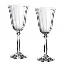 Бокалы для мартини Анжела 1647, 185 мл. 6 шт. Crystalex Bohemia