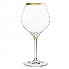 Бокалы для вина Аморосо M8426 450 мл. 2 шт. Crystalex Bohemia