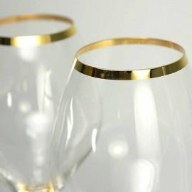 Бокалы для шампанского Аморосо M8426 200 мл. 2 шт. Crystalex Bohemia