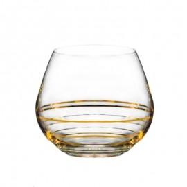 Бокалы для виски Аморосо M8441 440 мл. 2 шт. Crystalex Bohemia