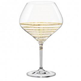Бокалы для вина Аморосо M8441 470 мл. 2 шт. Crystalex Bohemia