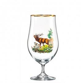 Фужеры для пива Бар 380 мл. 4 шт. Crystalex Bohemia