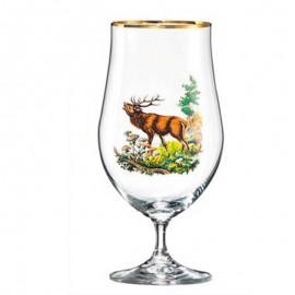 Фужеры для пива Бар 550 мл. 4 шт. Crystalex Bohemia