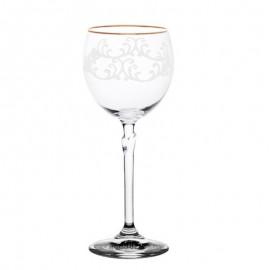 Бокалы для вина Бриджита 387507 снежок 200 мл. 6 шт. Crystalex Bohemia