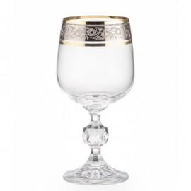 Бокалы для вина Клаудия 43249 230 мл. 6 шт. Crystalex Bohemia