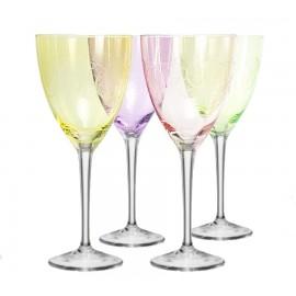Бокалы для вина Кейт 40796 Fantasy 250 мл. 4 шт. Crystalex Bohemia