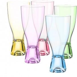 Стаканы для шампанского Самба D4662 350 мл. 6 шт. Crystalex Bohemia
