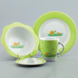 Набор детской посуды из ЧЕШСКОГО фарфора PORCELANY