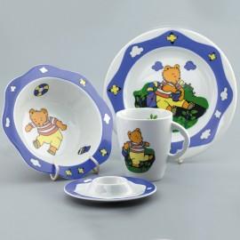 Набор детской посуды из ЧЕШСКОГО фарфора E713 PORCELANY