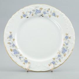 Тарелка десертная 17 см. (набор) Rococo 9706 blue