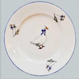 Тарелка десертная 17 см (набор 6 шт.) Ивон-25