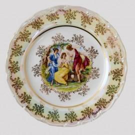 Тарелка десертная 19 см. Перламутровая мадонна. Leander