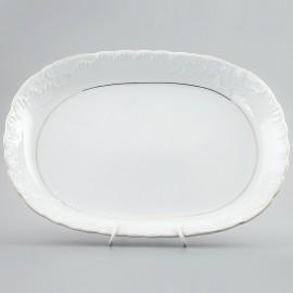 Блюдо овальное 29 см. из фарфора Rococo 3604