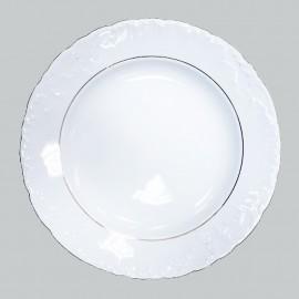 Круглое блюдо 29 см из фарфора Rococo 3604
