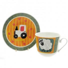 Забавная ферма чайная пара для завтрака 500 мл COFUN1101