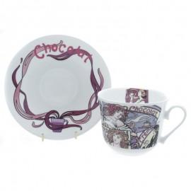 Горячий шоколад чайная пара для завтрака 500 мл COHOT1101
