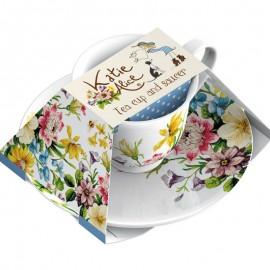 Английский Сад Katie Alice чайная пара Флорал CUP3671
