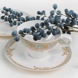 Фонтенбло чайная пара 4 пр LD2219-TA