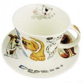 Собаки-с чайная пара для завтрака 500 мл XDOGZ1111/1112