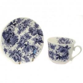 Английский ситец чайная пара для завтрака 500 мл XENGCH1100