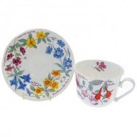 Цветочный сад чайная пара для завтрака 500 мл XGARFL1100