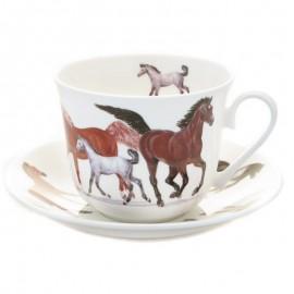 Лошади чайная пара для завтрака 500 мл XHOR1100