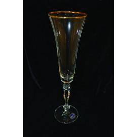 Бокалы для шампанского Виктория 20787 180 мл. 6 шт. Crystalex Bohemia