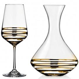 Набор для вина Сандра 450 мл 4 пр. Crystalex Bohemia