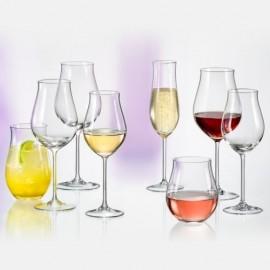 Бокалы для шампанского Аттимо 40807 180 мл. 2 шт. Crystalex Bohemia