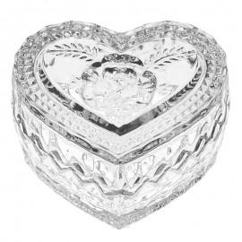 """Доза """"Сердце"""" BOXES 8,2 см. из хрусталя Crystal Bohemia"""