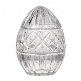 Доза-шкатулка Яйцо 14 см. из хрусталя Crystal Bohemia