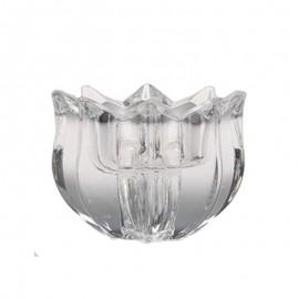 Подсвечник для плавающей свечи Тюльпан 7,5 см. из хрусталя Crystal Bohemia