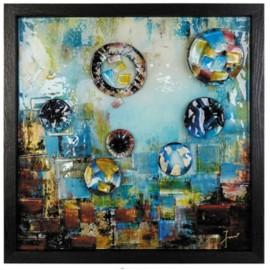 Картина стеклянная Аква Вива 50х50 см