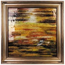 Картина стеклянная Сансет Вояж 50х50 см