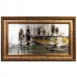 Картина стеклянная Ностальжи 30х60 см